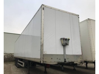 Samro BF 316 RS système double étage reconditionnné - closed box semi-trailer