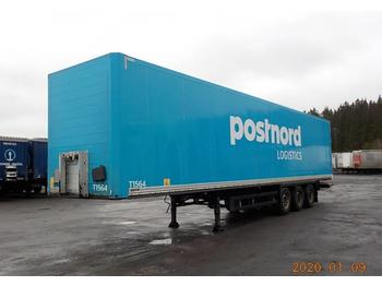 Schmitz Cargobull BOX - DPH 285  - closed box semi-trailer
