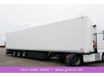 بصندوق مغلق نصف مقطورة Schmitz Cargobull SKO 24 / 2 x ZURRLEISTE / LIFTACHSE / pal KASTEN