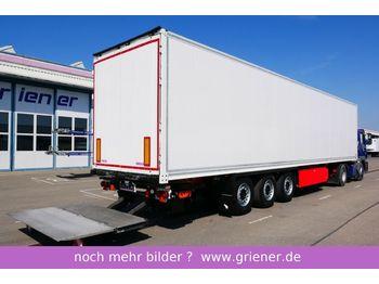بصندوق مغلق نصف مقطورة Schmitz Cargobull SKO 24/ LBW 2000 kg / PAL kasten LASI 4 x