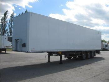 Closed box semi-trailer Schmitz SKO 24/L 13.62 FP 25 dvoupatrový tříosý