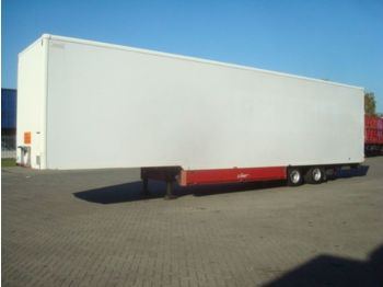 Spier 2-Assige mega semi gesloten - closed box semi-trailer