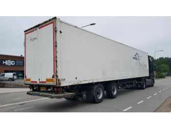 Closed box semi-trailer Spier KASTEN OPLEGGER + Laadklep