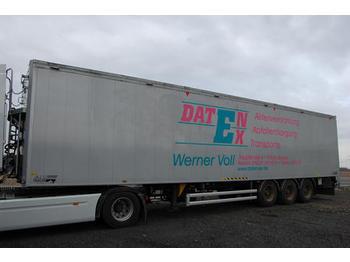 Stas Typ: S 300 ZX, Schubboden Aufliger - closed box semi-trailer