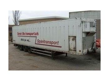 TALSON Schubboden - closed box semi-trailer