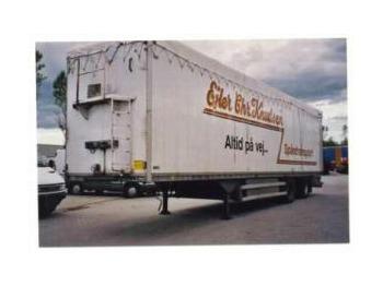 TALSON Schubboden 85 cbm - closed box semi-trailer