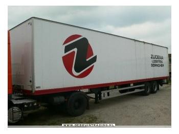 Talson 2 assig geisoleerd - closed box semi-trailer