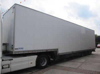 Talson 3as gesloten semi - closed box semi-trailer