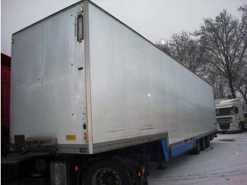 Talson D24 - closed box semi-trailer