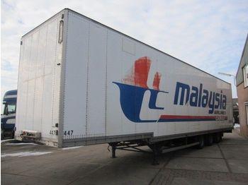 Talson D 24 - closed box semi-trailer