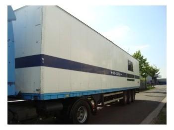 Talson F 1027 - closed box semi-trailer