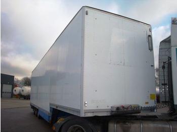 Talson F 1227 - closed box semi-trailer