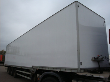 Talson F 1227 Kleiderkoffer - closed box semi-trailer