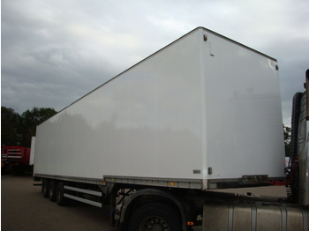 Talson F 24 Confection Trailer - closed box semi-trailer