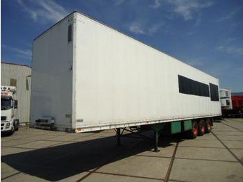 Talson Geïsoleerde box met verwarming - Mit Heizung - With Heater - closed box semi-trailer