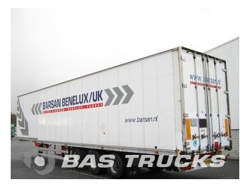 Talson Kleider-Confectie Liftachse D.1227 - closed box semi-trailer