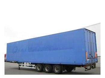 Talson Kleider Confectie Liftachse F1227 - closed box semi-trailer