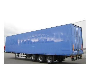 Talson Kleider Confectie Liftachse F24 - closed box semi-trailer
