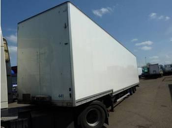 Talson Kleidung Confectie Box Koffer - closed box semi-trailer