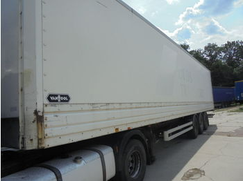 Closed box semi-trailer VAN HOOL Doppelstock