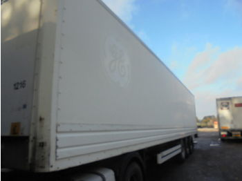 Closed box semi-trailer VAN HOOL Laadklep