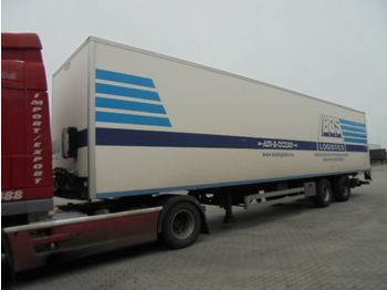 Closed box semi-trailer Van Hool 2B2001