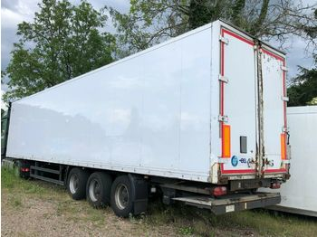 Closed box semi-trailer Weca LBW