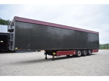 kraker Walkingfloor CF-200 - closed box semi-trailer