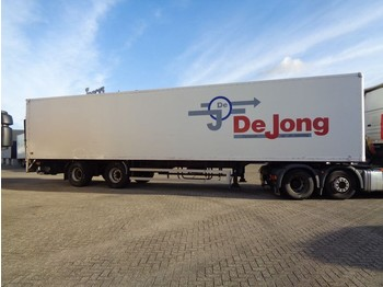 Closed box semi-trailer spier SGK 210 + 2 Axle + Lift