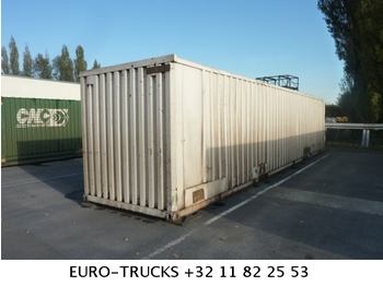 container 40 fuss mehrere st ck container transporter swap body semi trailer from belgium for. Black Bedroom Furniture Sets. Home Design Ideas
