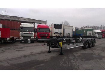 FLIEGL SDS 380 - container transporter/ swap body semi-trailer