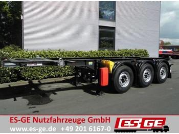 Container transporter/ swap body semi-trailer Krone 3-Achs-Containerchassis Box Liner 20 ft: picture 1
