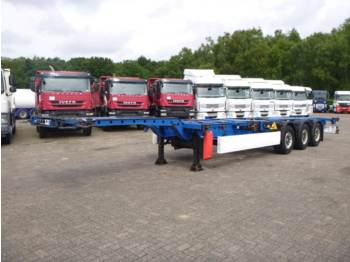 Container transporter/ swap body semi-trailer Krone Container trailer 20-30-40-45-ft / extendable