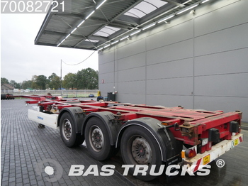 Container transporter/ swap body semi-trailer Krone Liftachse Multifunctional Ausziebar SD