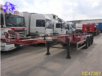 OVA Container Transport - container transporter/ swap body semi-trailer