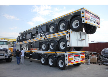 OZSAN TRAILER 3 AXLE CONTAINER CARRIER (OZS - K3) - container transporter/ swap body semi-trailer
