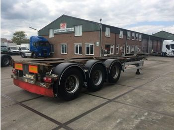 Container transporter/ swap body semi-trailer Vanhool 3B0071 / 20, 2x20, 30, 40 FT CONTAINERCHASSIS