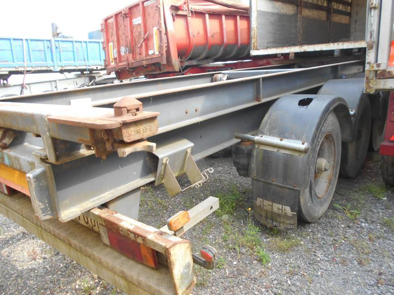 container transporter/ swap body semi-trailer Asca
