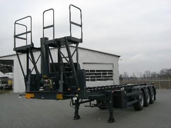 BENALU MultiLiner Ultra 30`` Kipp - container transporter/ swap body semi-trailer