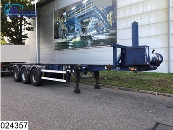 Burg Container 20 / 30 FT, Elec / Hydraulic Tipping system - container transporter/ swap body semi-trailer