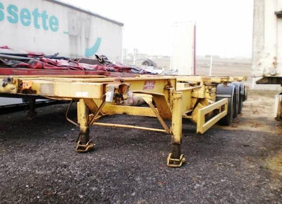 container transporter/ swap body semi-trailer Castera