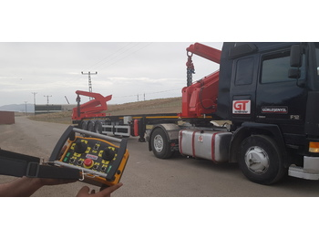Container Side Loader - container transporter/ swap body semi-trailer