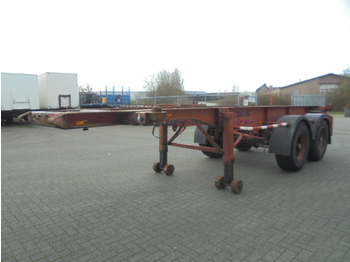 Contar B 1018 C 2 - container transporter/ swap body semi-trailer