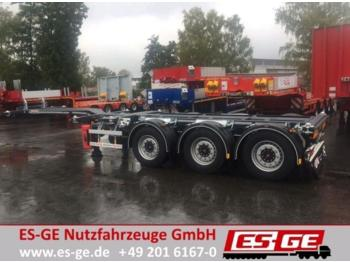 Container transporter/ swap body semi-trailer D-TEC 3-Achs-Containerchassis