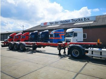 D-TEC D-TEC FT-43-03V | ADR | MULTICHASSIS 20-45 FT |  - container transporter/ swap body semi-trailer