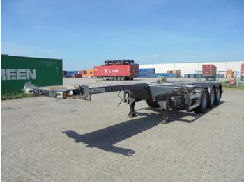 Ημιρυμουλκούμενος μεταφοράς εμπορευματοκιβωτίων/ κινητό αμάξωμα D-Tec FT-43-03V