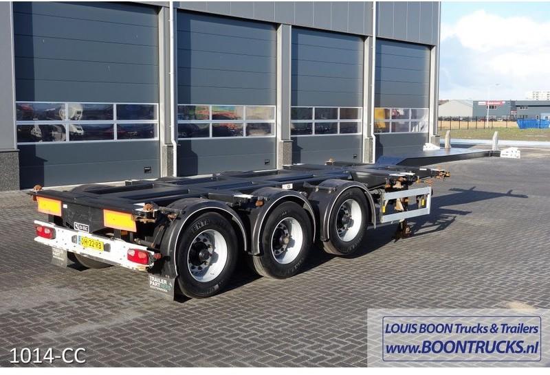Container transporter/ swap body semi-trailer D-Tec FT-43-03V 20-30-40-45ft  - Truck1 ID: 3469083