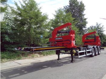 GURLESENYIL 13.8M SIDELOADER - container transporter/ swap body semi-trailer