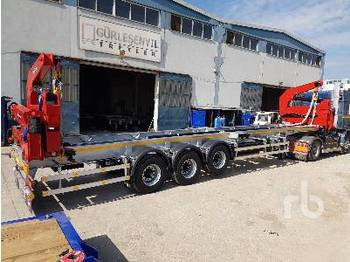 GURLESENYIL 13.8 M Self Loading Container Tri/A - container transporter/ swap body semi-trailer