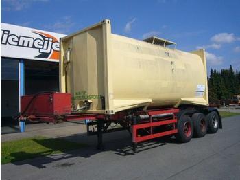 KAESSBOHRER AUFLIEGER - container transporter/ swap body semi-trailer